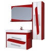 КОЛУМБА 90 (КРАСНЫЙ), комплект мебели из 3-х предметов