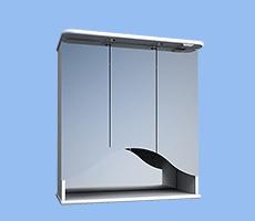 Протей 75, шкаф зеркальный навесной