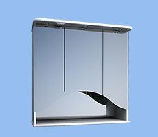 Протей 83, шкаф зеркальный навесной